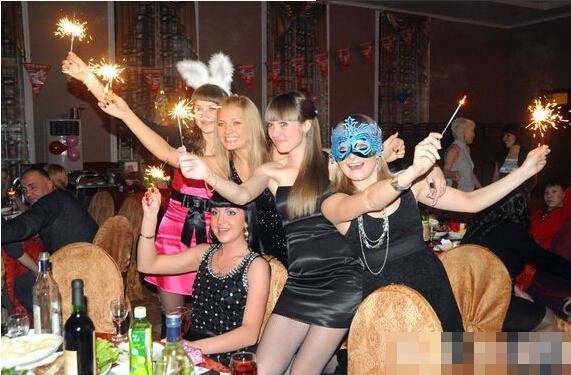 在黑河的俄罗斯女人 多是俄罗斯美女