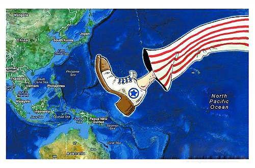 美军侦察机在南海侦察遭到中国海军驱赶