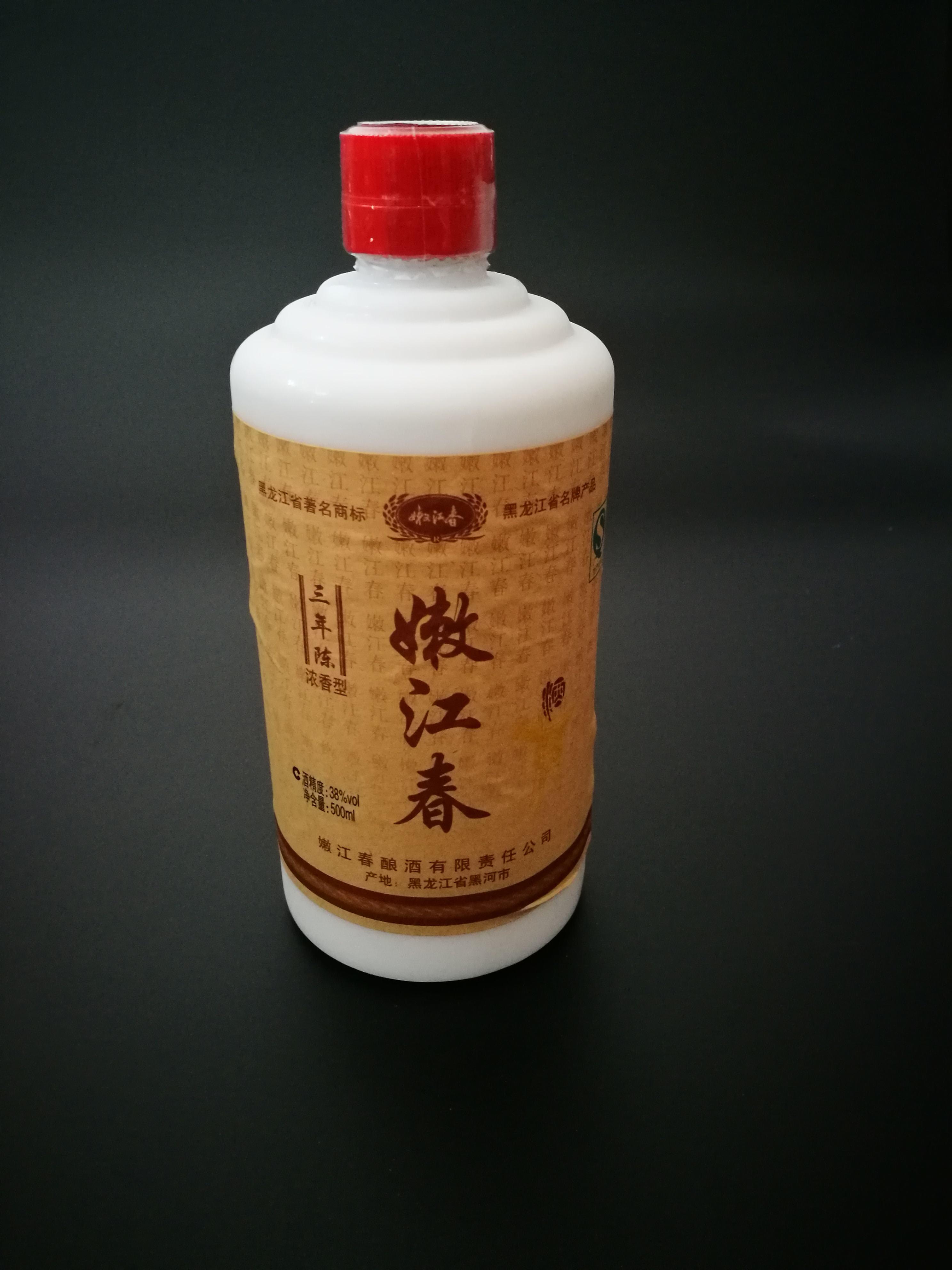 嫩江春·三年陈 【38度 500ml】【价格 图片】